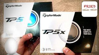 TaylorMade TP5 / TP5X Balls