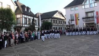 Parade der Junggesellen Schützenfest-Samstag 2015