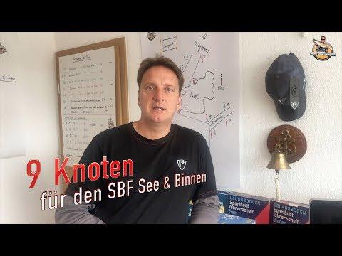 9 Knoten in 10 Minuten für die SBF See & Binnen