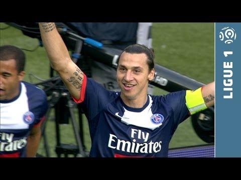 Sublime scorpion goal Zlatan IBRAHIMOVIC (10') - Paris Saint-Germain - SC Bastia (4-0) - 2013/2014