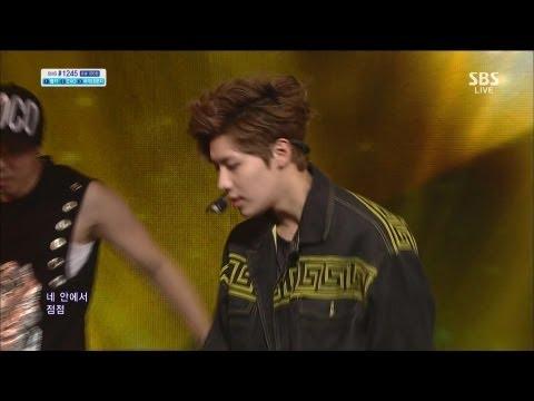 헨리 (Henry) [Trap (feat 태민)] @SBS Inkigayo 인기가요 20130617
