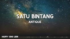 Antique - Satu Bintang (Lirik)
