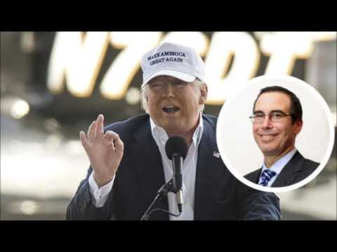 Rumours about Trump and Mnuchin surely cannot be true?