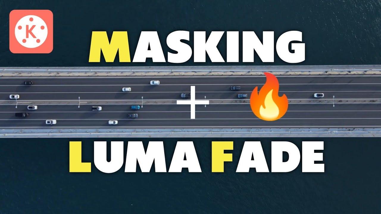 Use Masking To make Pro Level Luma Fade Transition | Kinemaster Editing Tutorial