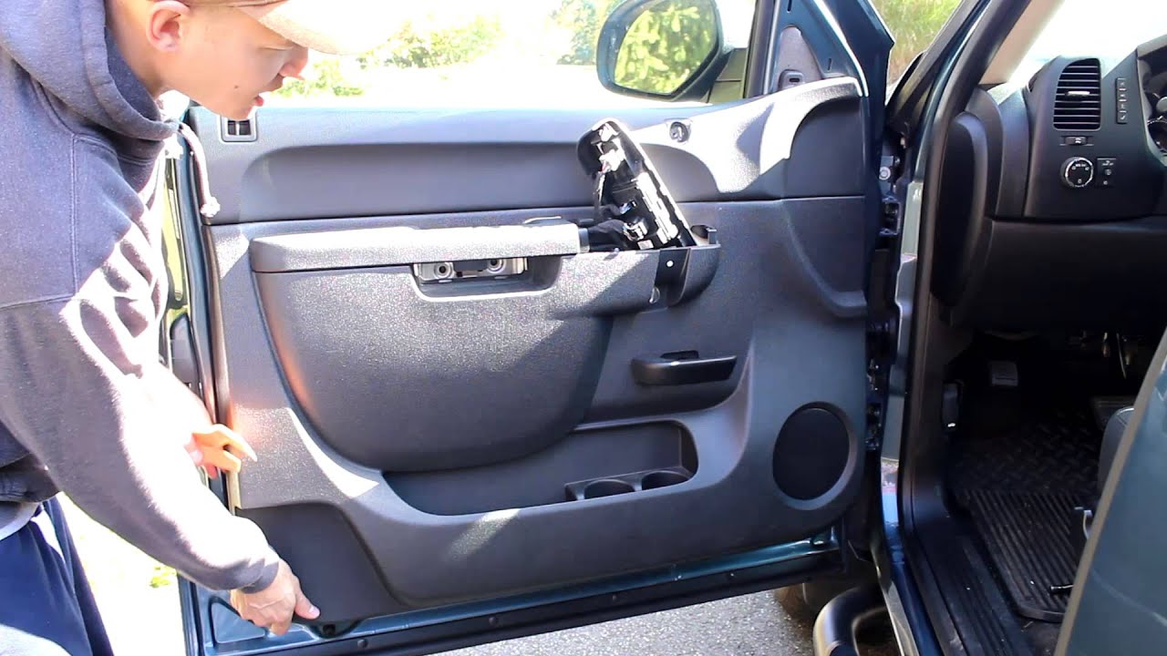 maxresdefault gmc sierra front door speaker install replace change 2013 extended  at readyjetset.co