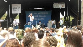 The Maine - English Girls (Live from The Warped Tour at Burgettstown)