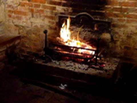 Durfold House 27-12-03.. a tudor fireplace