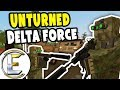 Stolen Military Equipment Convoy | Unturned Special Forces RP - Delta Force (Roleplay)