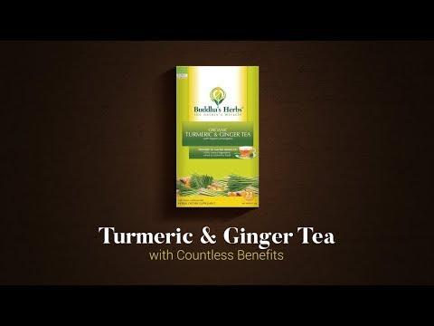 Buddha's Herbs Organic Turmeric and Ginger Tea