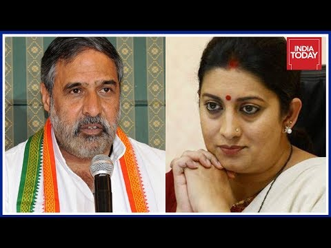 Cong Leader, Anand Sharma Responds To Smriti Irani's Attack On Rahul Gandhi