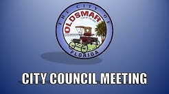 City of Oldsmar Council Meeting, July 21, 2015