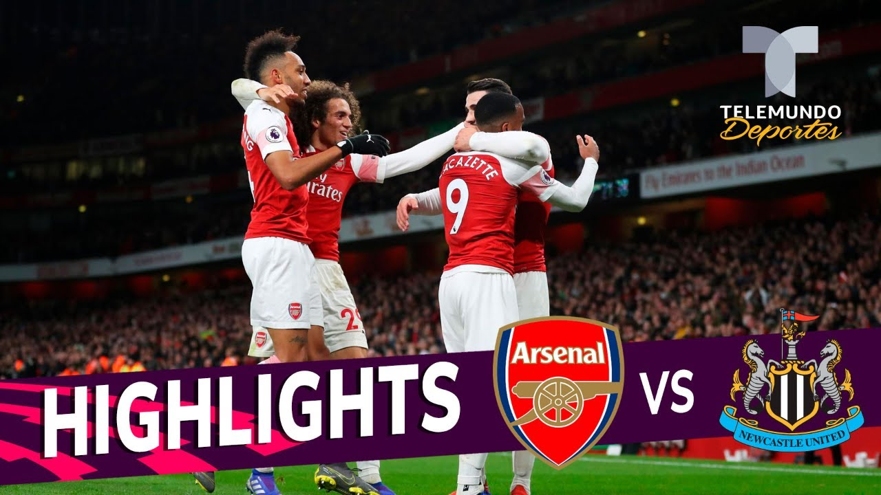 Arsenal vs. Newcastle: 2-0 Goals & Highlights | Premier ...