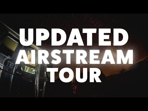 Tour our Renovated 30 'Airstream Classic - Our Full-Time RVing Tiny Home on Wheels
