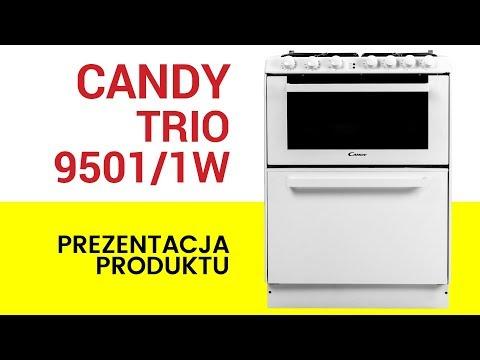 Kuchnia Gazowa Ze Zmywarką Candy Trio 95011w Youtube