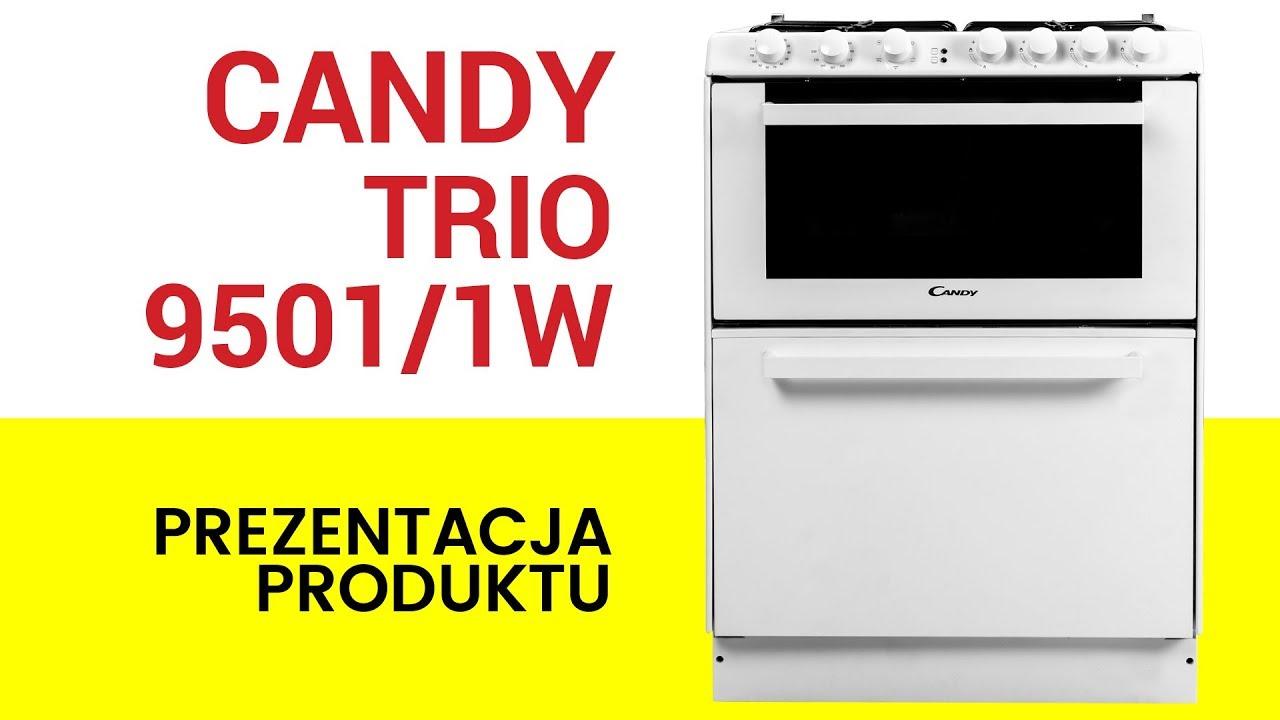 Kuchnia Gazowa Ze Zmywarką Candy Trio 95011w
