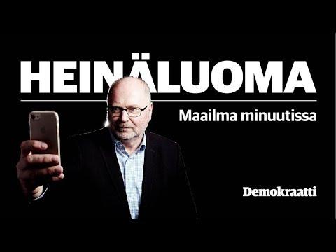 """Heinäluoma – Maailma minuutissa: """"Sipilä ja Orpo löysivät loistavan vaalilauseen"""""""