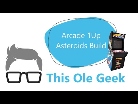 Arcade 1Up Asteroids build and review from This Ole Geek