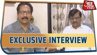 Sanjay Raut बोले ये फडणवीस की शपथ-ग्रहण Accidental है .... सुनिए पूरा Interview