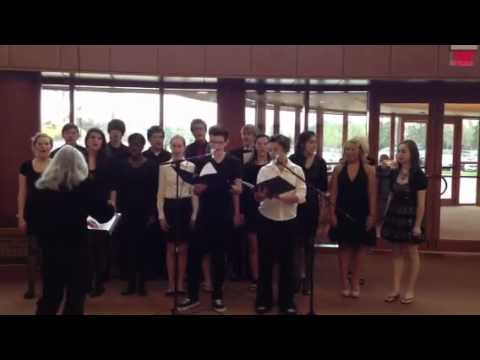 Don't stop believing (cover by the prairie school choir)