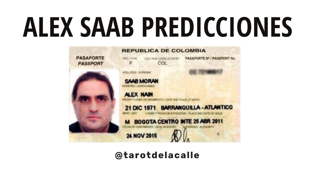 ALEX SAAB PREDICCIONES | @tarotdelacalle