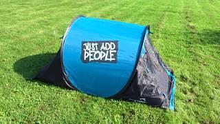 Обзор самораскладывающейся палатки Easy camp 200