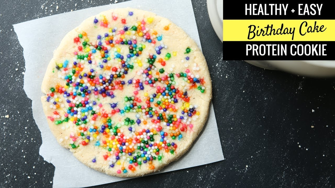 Protein Cake Recipe Low Carb: Healthy Funfetti Cake Batter Cookies Recipe From Scratch