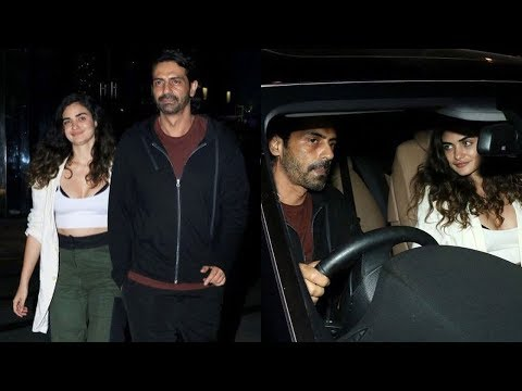 Arjun Rampal Openly s His Relationship With Girlfriend Gabriella After A Divorce With Meher
