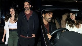 Arjun Rampal Openly Shows His Relationship With Girlfriend Gabriella After A Divorce With Meher