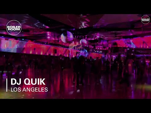 DJ Quik Ray-Ban x Boiler Room 010 Los Angeles Live Set