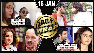 Ranbir CANCELS Engagement With Alia, Kangana Slams Karan Johar, Bharat Teaser | Top 10 News