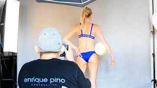 Commercial Photoshoot with Megan Wallin and Laura Anderson - Beach Volleyball Players