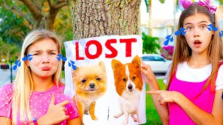 Download Maggie and Nastya - a story how dogs were lost Mp3 and Videos