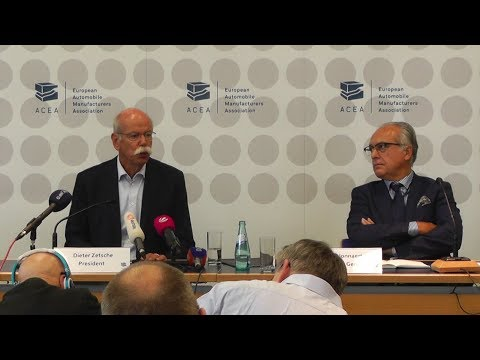 CO2 targets for cars: European auto industry sets out post-2021 framework (Dieter Zetsche)