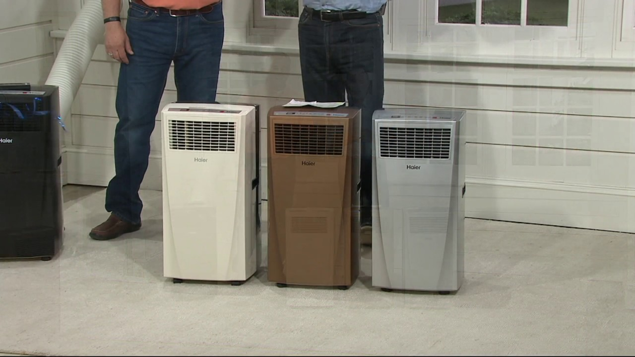 Haier 10,000 BTU Portable Air Conditioner with Remote on QVC