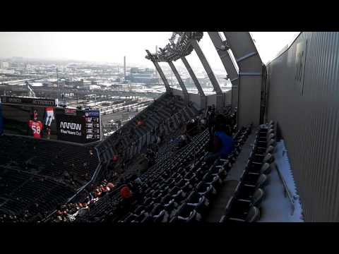 Mile High Stadium - top of section 506