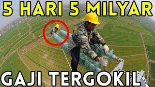 GAJI 5 HARI 5 MILYAR!!! 5 Pekerjaan Ekstrim Dengan Gaji Selangit