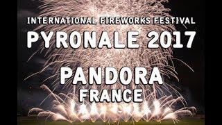 Pyronale 2017: Pandora Pyrotechnie - France - Feuerwerk