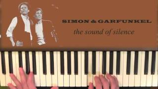 Sound Of Silence Piano Tutorial