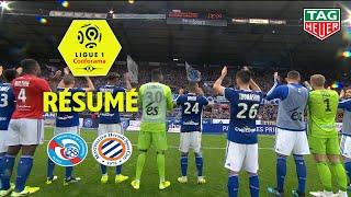 RC Strasbourg Alsace - Montpellier Hérault SC ( 1-0 ) - Résumé - (RCSA - MHSC) / 2019-20
