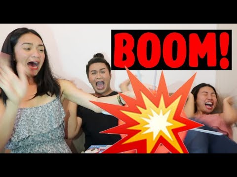 PUTUKAN with the MAMSHIES!!! (Boom Boom Balloon Challenge)