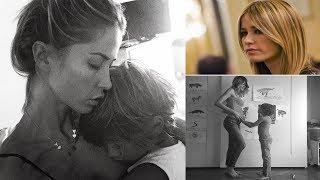 Elena Santarelli commuove il web: mostra la foto del figlio Giacomo