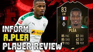 INFORM ALASSANE PLEA (83) PLAYER REVIEW | FIFA 19 ULTIMATE TEAM PLAYER REVIEW