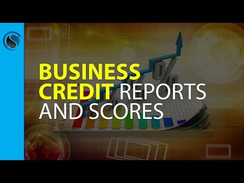 Business Credit Reports And Scores