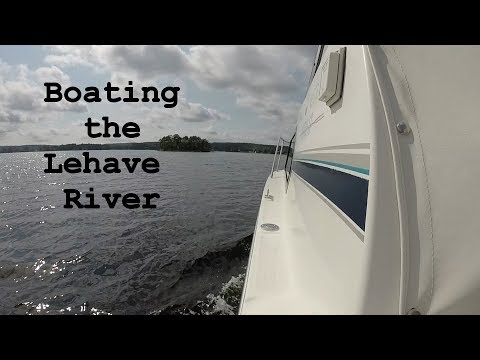 Boating the LaHave River | Bridgewater | Nova Scotia | Canada