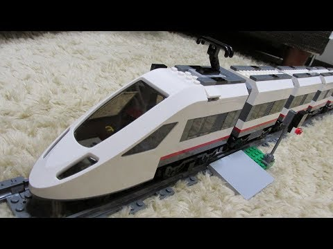 Lego mini-High Speed Passenger Train(#60051)