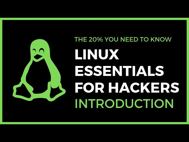 Linux Essentials For Hackers - #1 - Introduction