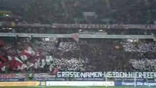 SGE - FC Bayern Ultras Choreo