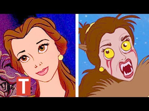 Thumbnail: 10 Disney Princesses Reimagined As MONSTERS