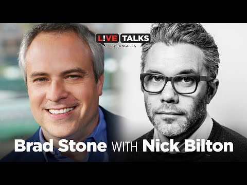 Brad Stone in conversation with Nick Bilton at Live Talks Los Angeles