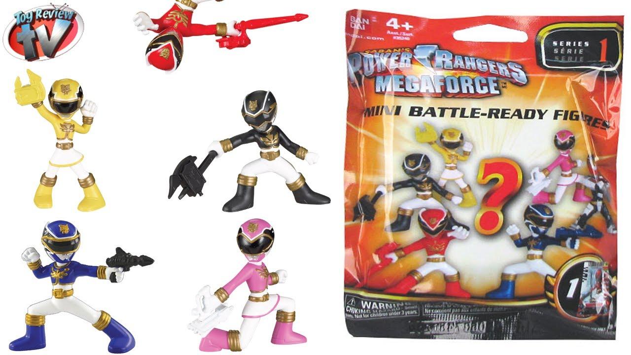 Power Rangers Megaforce Series 2 Battle-Ready Figures Mystery Pack New